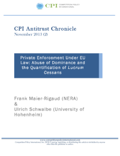 Private Enforcement Under EU Law: Abuse of Dominance and the Quantification of Lucrum Cessans