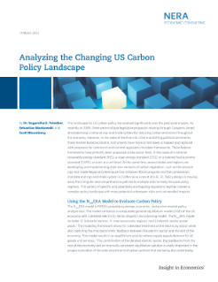 Analyzing the Changing US Carbon Policy Landscape