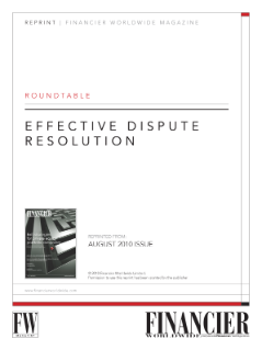 Effective Dispute Resolution: Roundtable