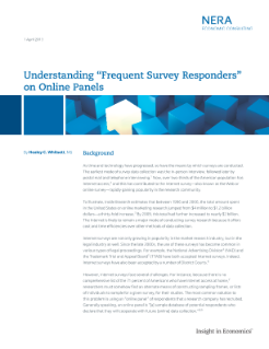 Understanding 'Frequent Survey Responders' on Online Panels