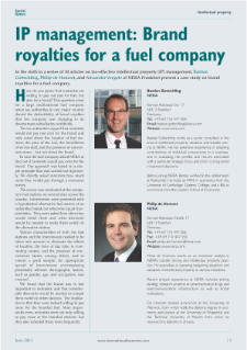 IP Management: Brand Royalties for a Fuel Company