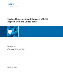 Updated Macroeconomic Impacts of LNG Exports from the United States