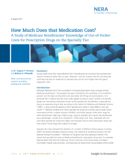How Much Does that Medication Cost? A Study of Medicare Beneficiaries' Knowledge of Out-of-Pocket Costs for Prescription Drugs on the Specialty Tier