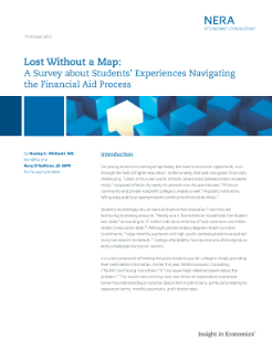 Lost Without a Map: A Survey about Students' Experiences Navigating the Financial Aid Process