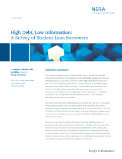 High Debt, Low Information: A Survey of Student Loan Borrowers