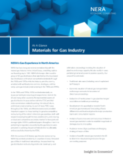 Materials for Gas Industry At A Glance