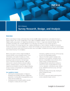 Survey Research, Design, and Analysis At A Glance