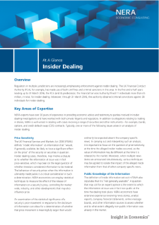 Insider Dealing (UK) At a Glance