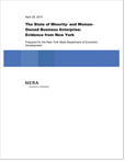 The State of Minority- and Woman-Owned Business Enterprise: Evidence from New York