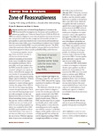 Zone of Reasonableness: Coping with Rising Profitability a Decade after Restructuring