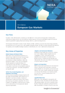 European Gas Markets At A Glance