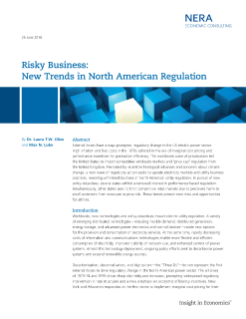 Risky Business: New Trends in North American Regulation