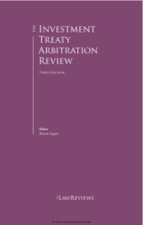 NERA Experts Contribute to Latest Investment Treaty Arbitration Review
